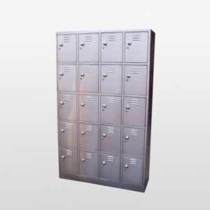Mild Steel Locker in Supplier