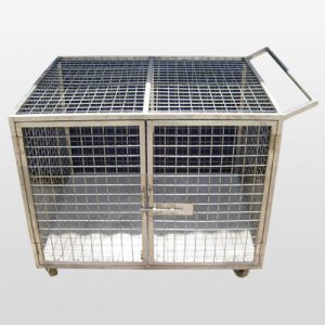 Stainless Steel Cage Trolley supplier and exporter in India